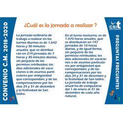 Preguntas y Respuestas sobre Convenio y Acuerdo CM