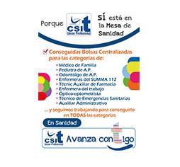 CSIT UNIÓN PROFESIONAL consigue Bolsa Centralizada para diferentes categorías del SERMAS