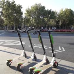 VEHÍCULO MOVILIDAD URBANA MADRID