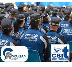 Curso preparación oposiciones a Policía Municipal del Ayuntamiento de Madrid con CSIT UNIÓN PROFESIONAL en colaboración con SPARTAN COPS