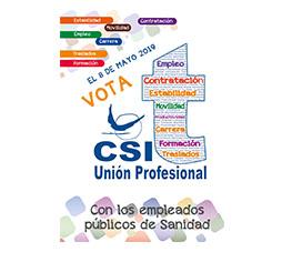 EL 8 de mayo, elecciones Sanidad