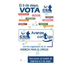 El 8 de mayo, vota CSIT UNIÓN PROFESIONAL