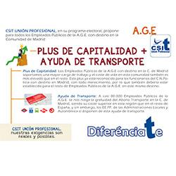 Plus de Capitalidad más Ayuda de Transporte para los EEPP de AGE