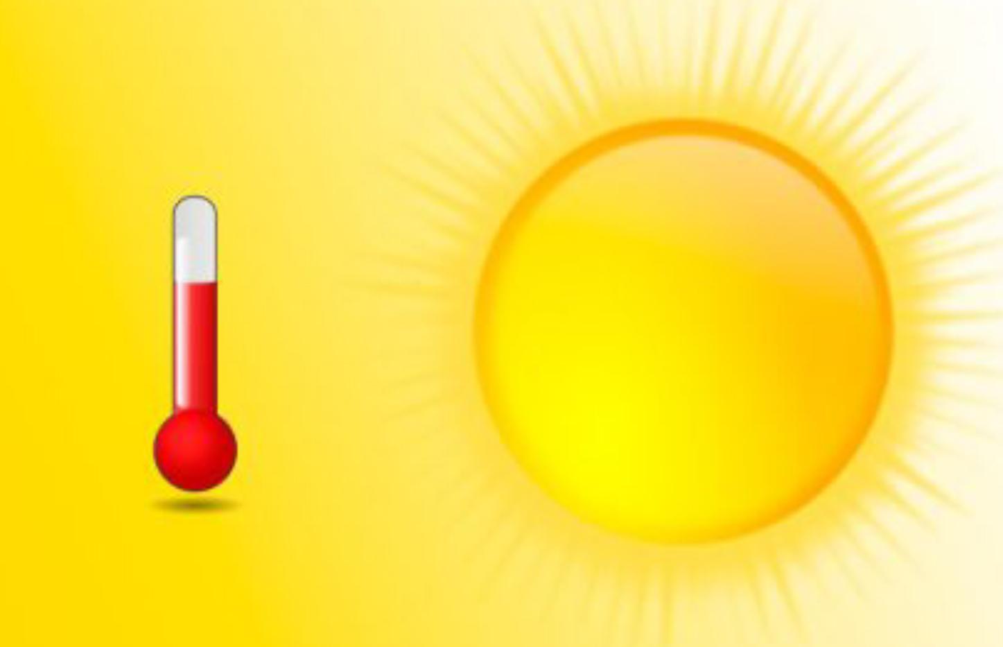 Altas temperaturas en escuelas infantiles