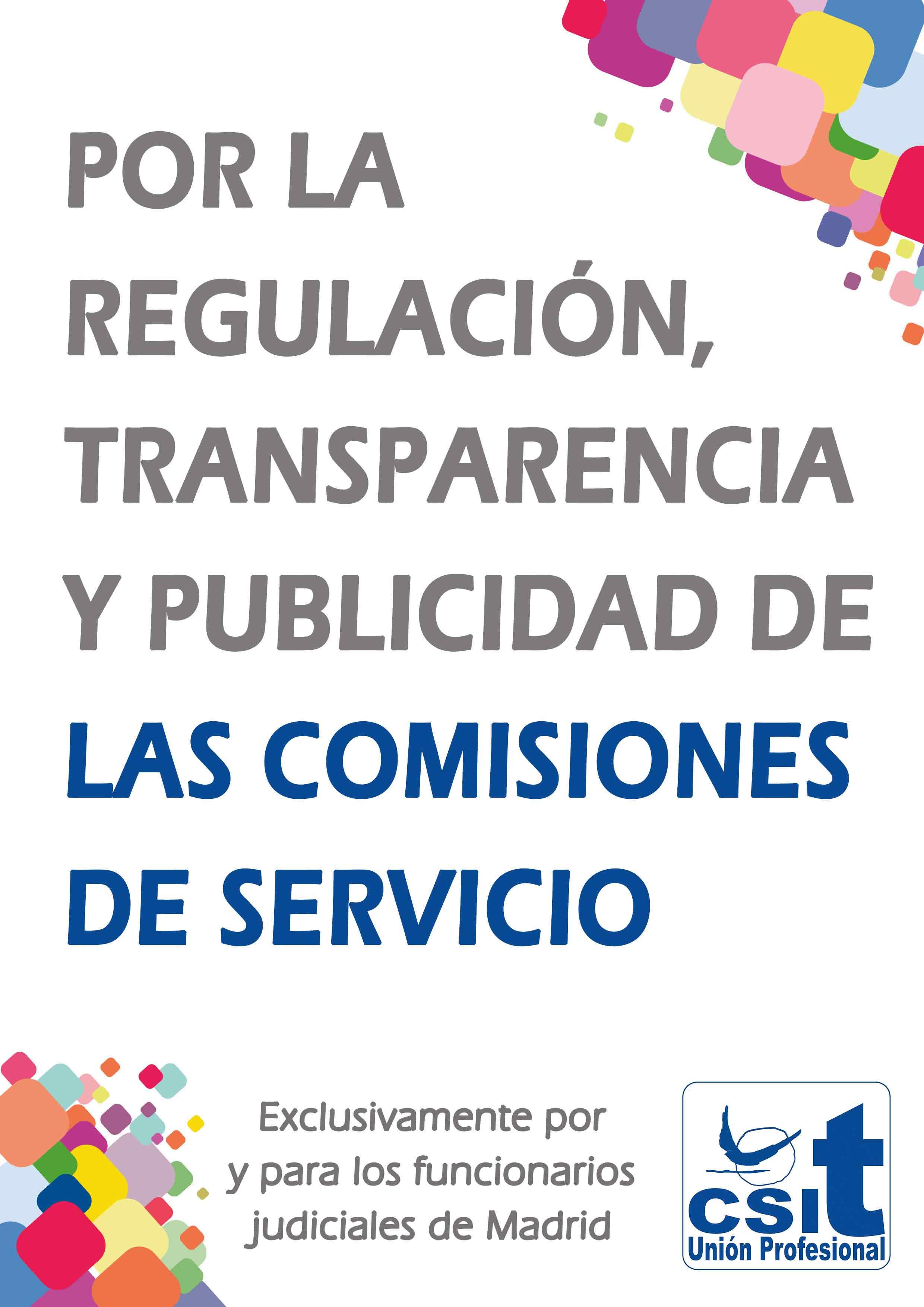 Oferta de comisiones de servicio para el Servicio de Apoyo del TSJ de Madrid