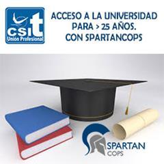 Curso acceso a la Universidad para mayores de 25 años, Colaboración con SpartanCops