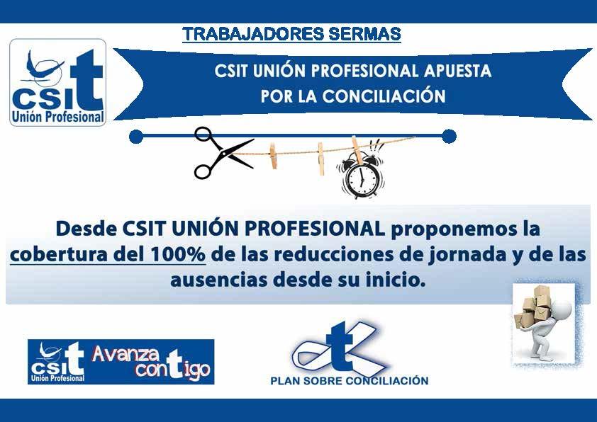 CARTEL 7 CONCILIACIÓN LABORAL TRABAJADORES SERMAS