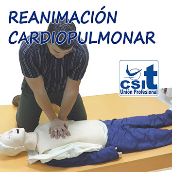 Curso de reanimación cardiopulmonar
