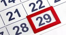 COMISIÓN DE SEGUIMIENTO: jornadas en año bisiesto