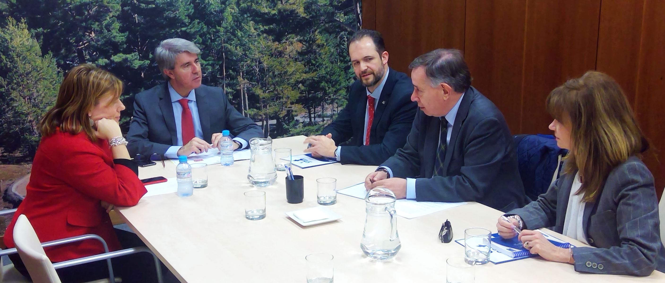 CSIT UNIÓN PROFESIONAL se reúne con la Consejería de Transportes, Movilidad e Infraestructuras de la CM