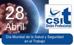 Día Mundial de la Salud y Seguridad en el Trabajo