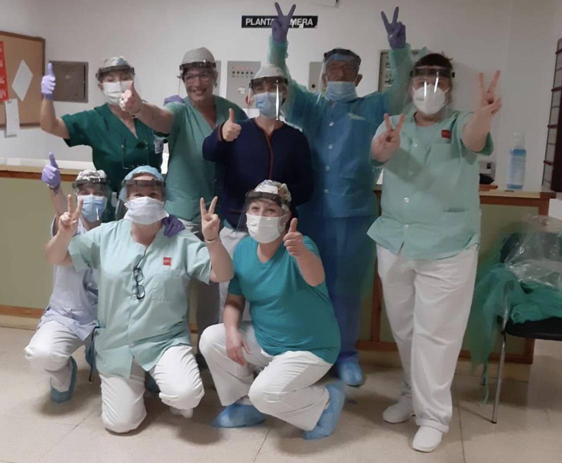 CSIT UNIÓN PROFESIONAL agradece las donaciones y colaboraciones para disminuir el riesgo de contagio por COVID-19 entre los trabajadores de la AMAS