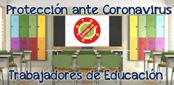 CSIT UNIÓN PROFESIONAL denuncia a la Consejería de Educación por incorporar a trabajadores a sus centros sin las medidas de protección adecuadas