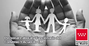 Relación de importes de ayudas sociales para personal laboral y funcionario de CM