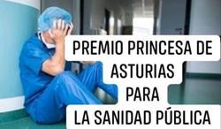 Premio princesa de asturias a la concordia para la sanidad