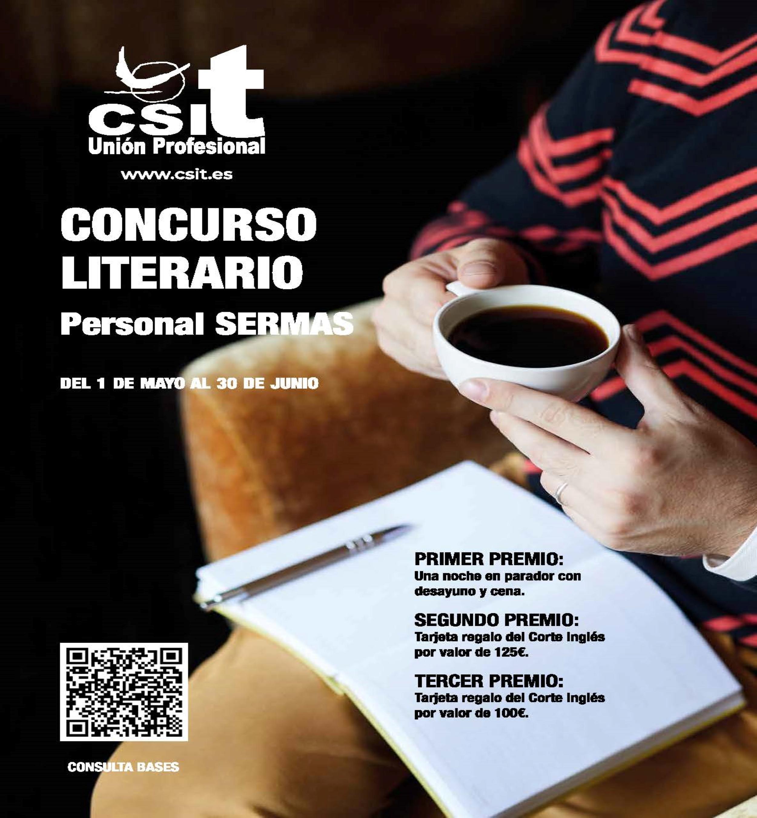 """CSIT UNIÓN PROFESIONAL ofrece a los trabajadores del SERMAS la oportunidad de estrenarse como """"escritores"""""""