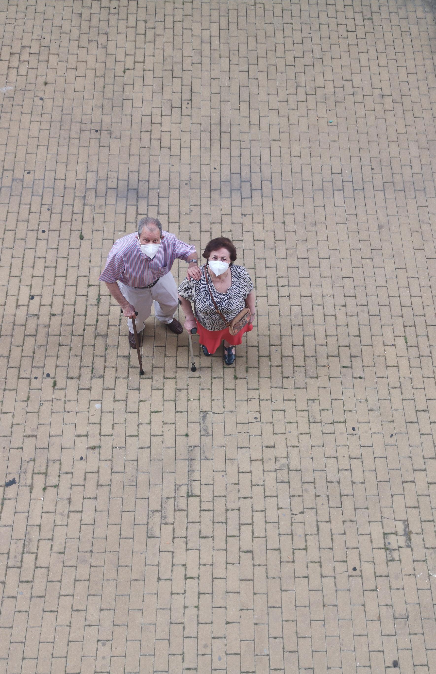 Abuelos en tiempo de pandemia