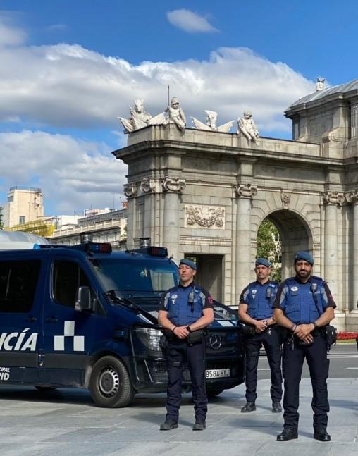 Exigimos uniformes y equipamiento adecuados que garanticen la integridad de los agentes de la Unidad de Apoyo a la Seguridad en Policía Municipal