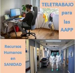 Teletrabajo RRHH Sanidad