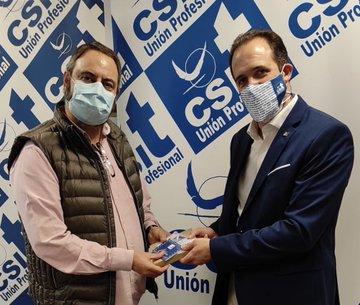"""Entrega Primer premio en Hospital Puerta de Hierro: """"Distancia o miedo"""", de Dionisio Martín Serrano"""