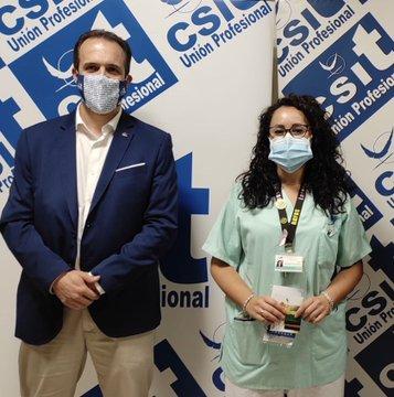 "Entrega Segundo premio en Hospital Infanta Sofía: ""Desolación"", de Lorena Martínez Garrido"