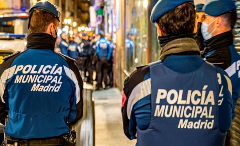 Equipamiento y vestuario adecuados para la protección de la plantilla de Policía Municipal durante las intervenciones