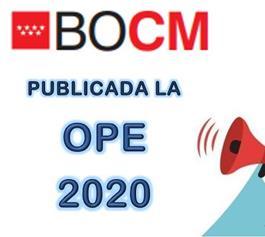 Publicado en el BOCM el Decreto de la Oferta de Empleo Público de la CM para 2020 OPE