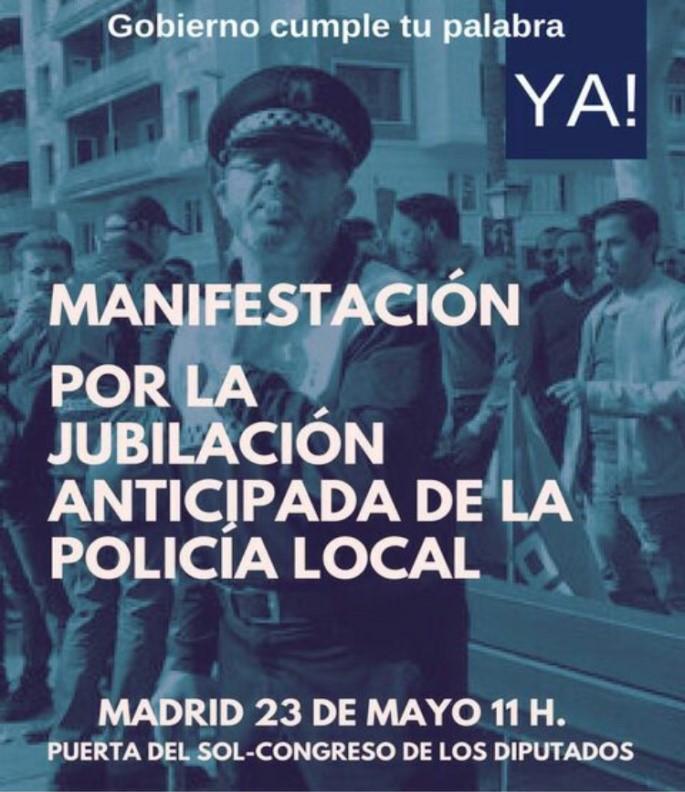 JUBILACIÓN POLICÍAS LOCALES