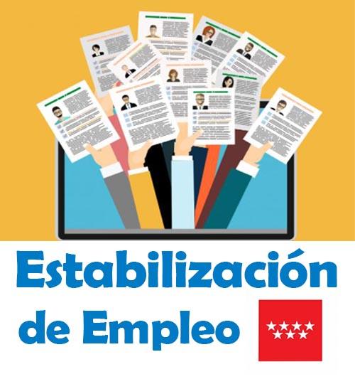 Exigimos la paralización de las publicaciones de las convocatorias extraordinarias de estabilización de empleo temporal en el BOCM