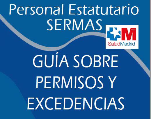 Guía sobre permisos y excedencias SERMAS